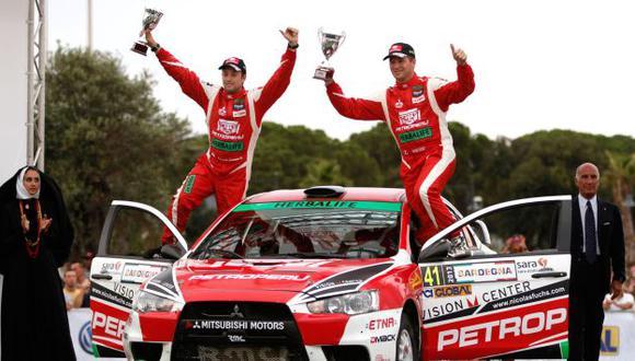 Ganador. Fuchs también triunfó en Italia el año pasado. (Difusión)
