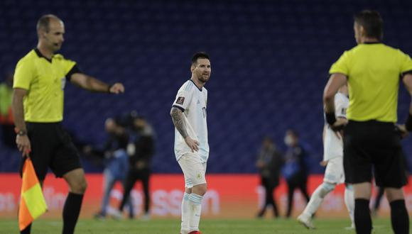 Lionel Messi visitará con Argentina Lima para el choque ante Perú. (Foto: AFP)