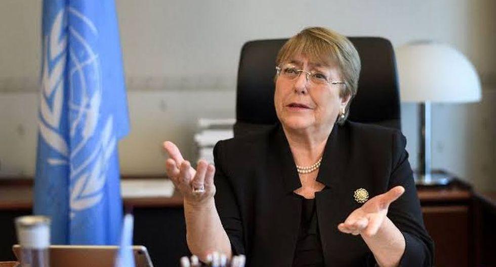 """Michelle Bachelet urgió a las autoridades """"a garantizar que las fuerzas de seguridad cumplan con las normas y estándares internacionales en materia de uso de la fuerza"""". (Foto: AFP)"""