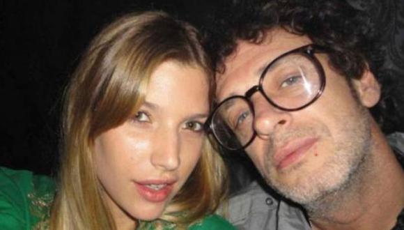 Chloe y Cerati juntos. (AFP)