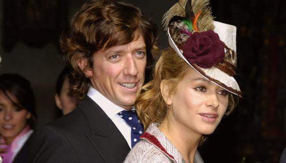 Cuando todo era felicidad. Paulina Rubio y Nicolás Vallejo-Nágera  ahora están separados.(EFE)