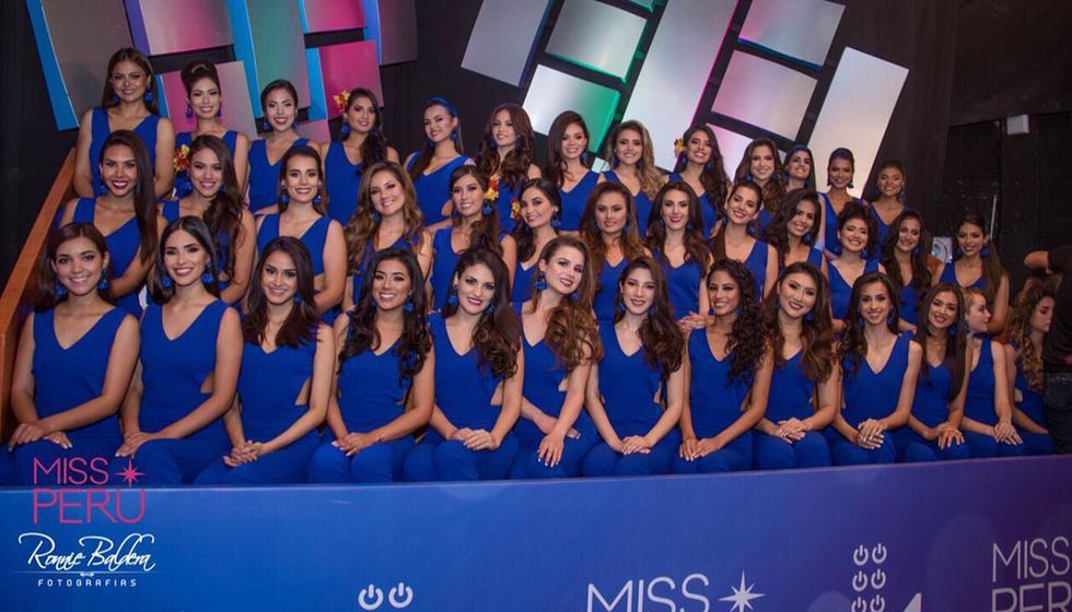 Las 50 candidatas fueron elegidas tras un riguroso concurso a nivel nacional. (Foto: @Missperúoficial)