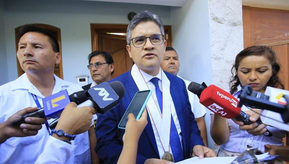 El fiscal José Domingo Pérez investiga a Keiko Fujimori por lavado de activos. (Jessica Vicente/GEC)