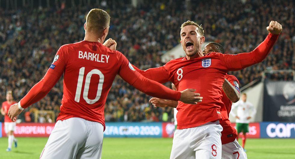 Inglaterra va en busca del triunfo que lo lleva a la fase final de la Euro 2020. (Foto. AFP)