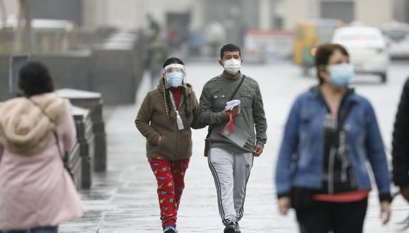 Lima registra bajas temperaturas en la temporada de invierno. Foto: César Bueno @photo.gec