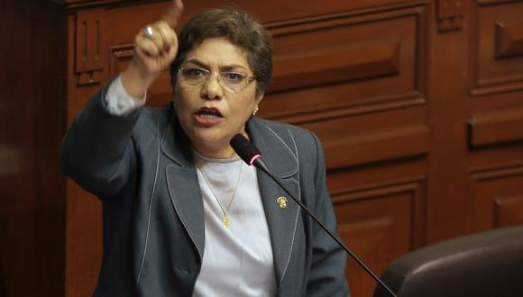Luz Salgado dijo que también hay plan contra Keiko Fujimori. (Nancy Dueñas)