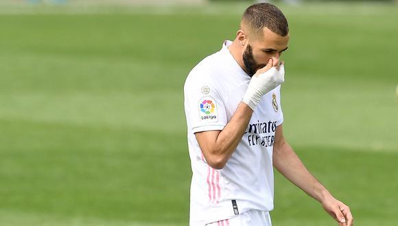 Real Madrid es tercero en su grupo tras registrar 4 puntos, con dos de ventaja sobre el Inter. (Foto: AFP)