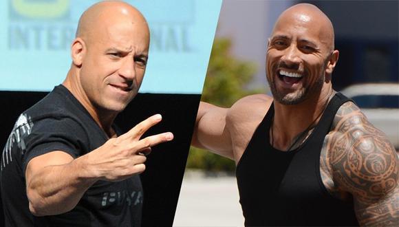 Vin Diesel habló por primera vez sobre la discusión con el actor Dwayne Johnson. (Foto: Universal Pictures)