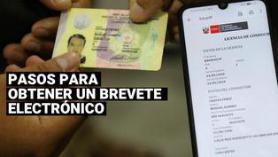 Brevete electrónico: Sepa los pasos para acceder a la nueva licencia de conducir digital