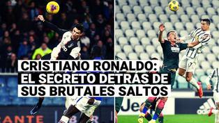 Conoce el secreto detrás de los brutales saltos de Cristiano Ronaldo