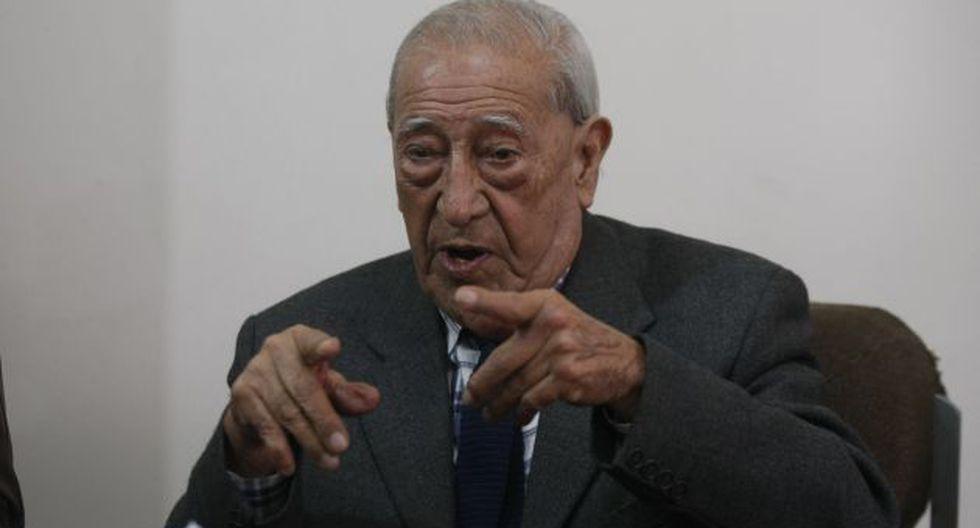 Asegura que el JNE no ha medido con la misma vara a todos los candidatos. (Anthony Niño de Guzmán)