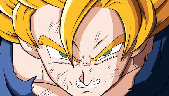 El color de los ojos de los saiyans iban a ser rojos en el diseño original (Foto: Toei Animation)