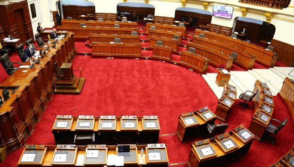 El Pleno del Parlamento sesiona este jueves en forma virtual. (Foto: Congreso de la República)