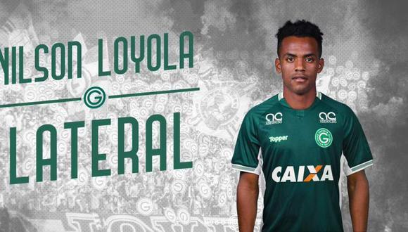 Nilson Loyola es nuevo jugador del Goiás de Brasil (Foto: @goiasoficial).