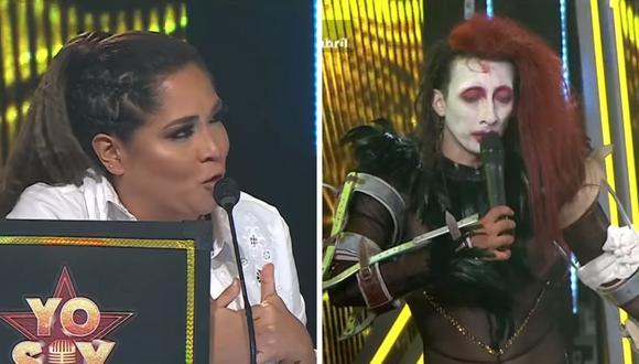 """Katia Palma y Mike Bravo tuvieron un tenso momento sobre el trabajo de la producción de """"Yo Soy"""". (Foto: Captura YouTube)."""