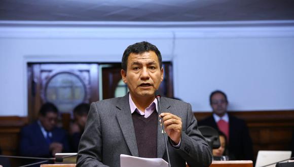 Joaquín Dipas, congresista fujimorista fue sentenciado. (Congreso de la República)