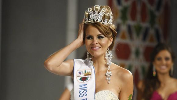 Jimena Espinoza dice que no perderá su corona. (Mario Zapata)