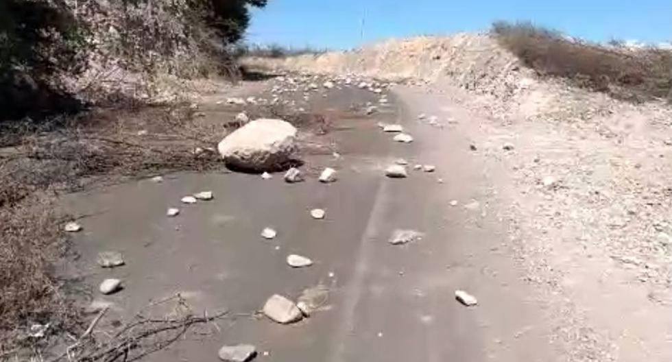Tercer día de paralización indefinida contra proyecto minero (Captura de imagen - Radio Americana).