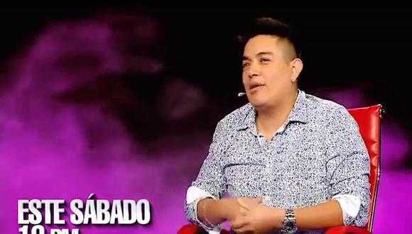 Leonar León se confesó en el sillón rojo de El Valor de la Verdad (Foto: Latina)