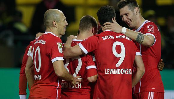 Bayern Munich marcha segundo en el Grupo B de la Champions League con 9 puntos a 3 del líder PSG. (Getty Images)