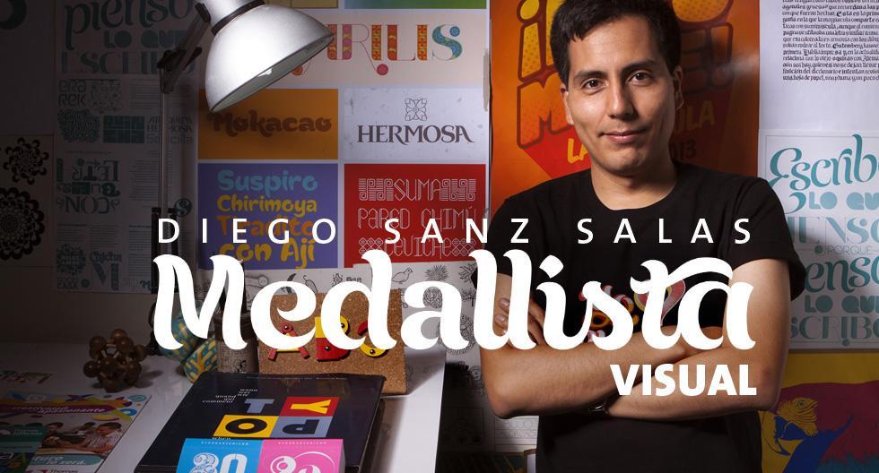 Diseñador, profesor, tipógrafo arequipeño, uno de los creadores de la imagen de los Juegos Panamericanos