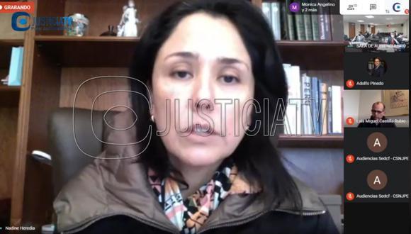 """Fiscal Mori imputa a Nadine Heredia haber sido """"funcionaria de facto"""" durante el gobierno de su esposo Ollanta Humala."""