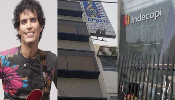 Apdayc respalda a Pedro Suárez Vértiz y señala que Indecopi niega derecho a autores peruanos. (Composición)