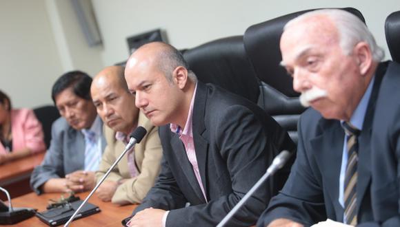 En abril se inicia debate de informes de la 'megacomisión' en el Congreso. (Fidel Carrillo)