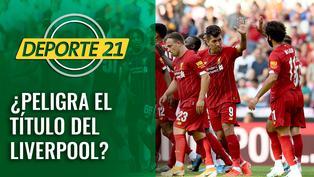 ¿Peligra el título del Liverpool?
