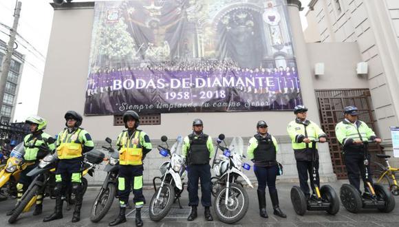 El plan de operaciones incluye a 700 agentes y a las Brigadas de Rescate y Canina del Serenazgo de Lima. (Municipalidad de Lima)