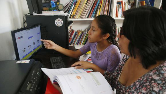 """Sesiones educativas de """"Aprendo en casa"""" que emitirán canales privados serán para alumnos de 5° de secundaria. (Foto: Minedu)"""