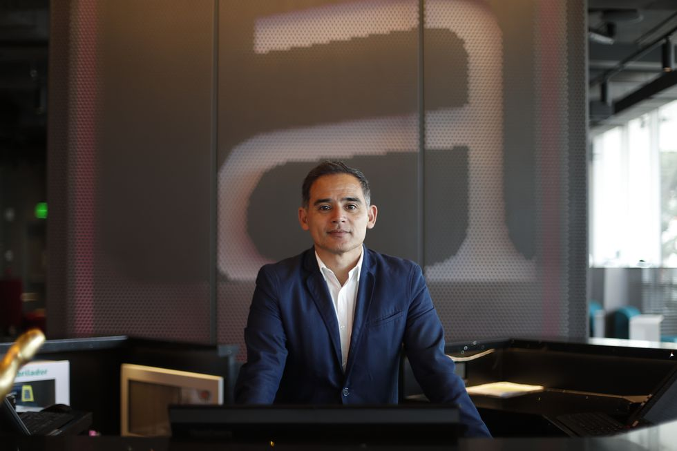 Vicente Flores, gerente general del Aloft Lima Miraflores. (Renzo Salazar/ GEC)