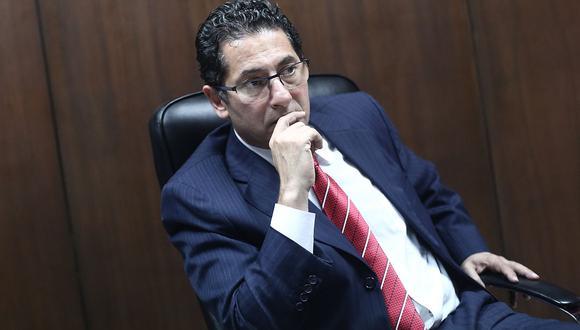 """Salvador Heresi indicó que instituciones como el Ministerio Público y el Poder Judicial deben trabajar con """"pulcritud"""" en los procesos de extradición. (USI / Video: Congreso TV)"""