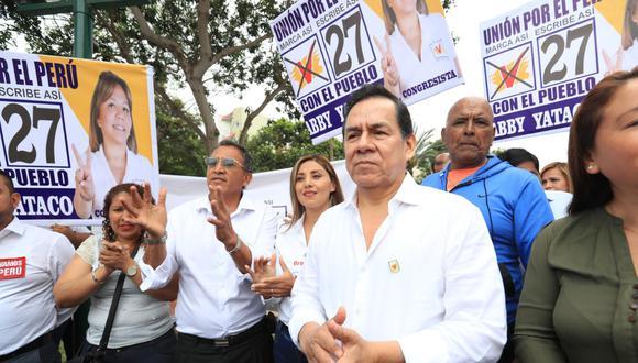 """José Vega cuestionó la """"falta de resultados"""" del gabinete Zeballos. (Foto: GEC / Rolly Reyna)"""