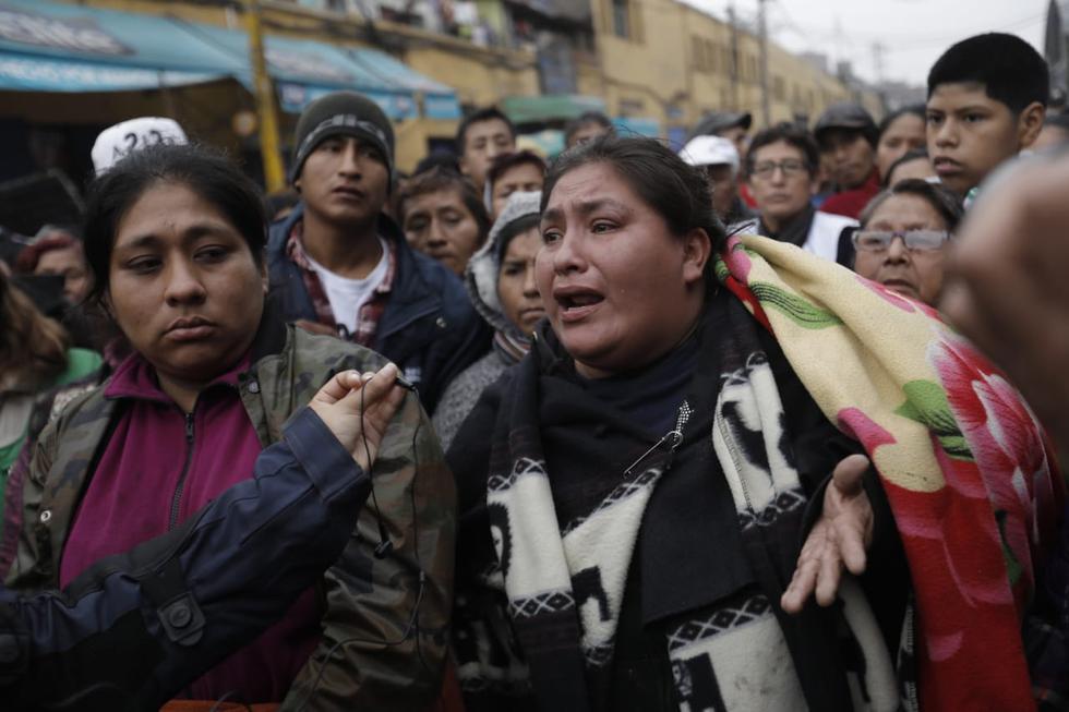 Ambulantes aseguran que quieren formalizarse, pero se resisten a dejar las calles. (Anthony Niño De Guzmán/GEC)