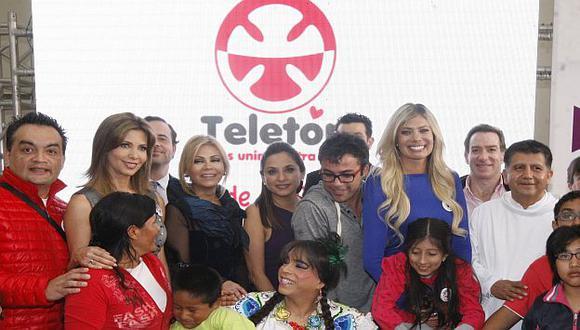 Teletón 2014 será transmitida por todos los canales de señal abierta. (Roberto Cáceres)