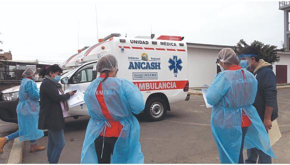 """Áncash: impulsan plan """"Khuska"""" para pacientes con COVID-19 en Chimbote (Foto referencial)."""
