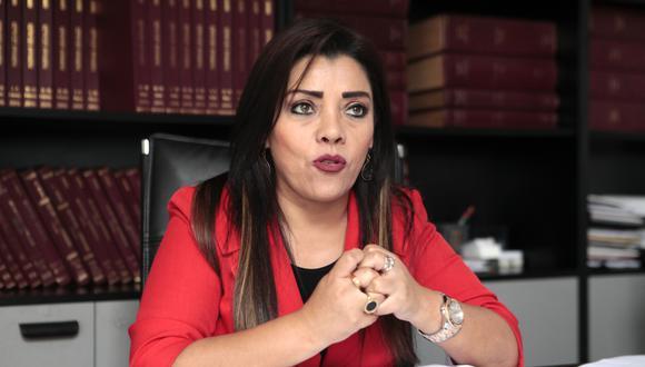 Alejandra Aramayo tuvo un voto disidente al resto de sus colegas de Fuerza Popular sobre Pedro Chávarry. (Foto: GEC)