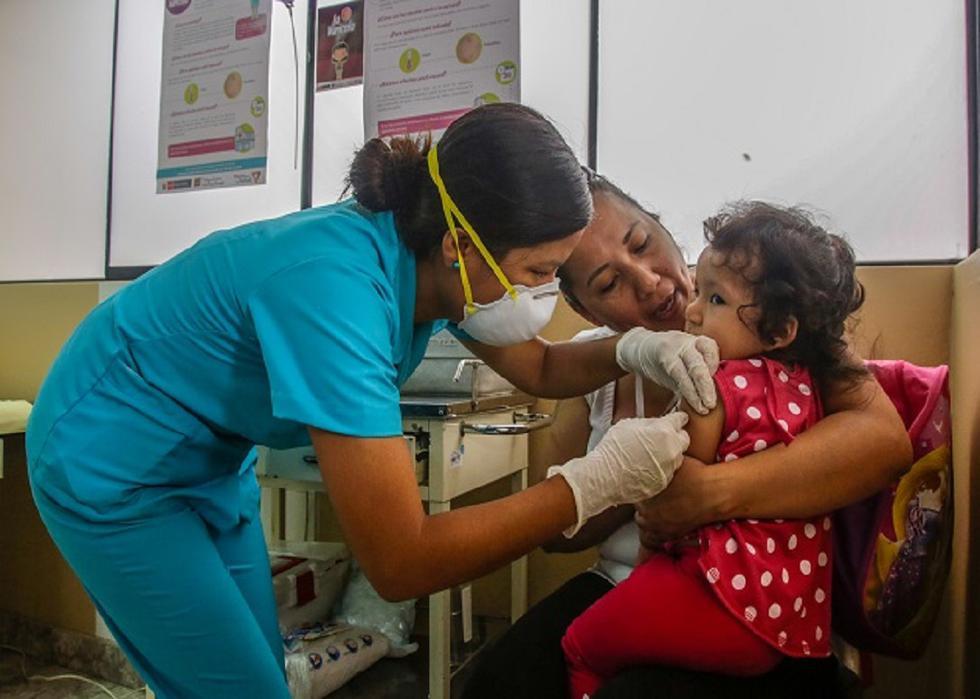 Vacunación gratuita (Ministerio de Salud)
