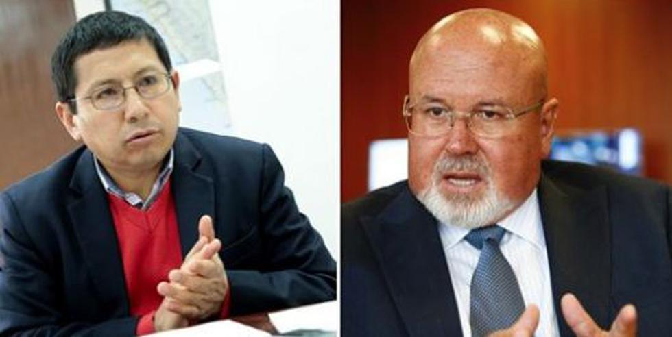 Carlos Bruce y Edmer Trujillo