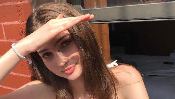 Joven de 18 años inició su carrera como modelo.  (Instagram/@meadowwalker)
