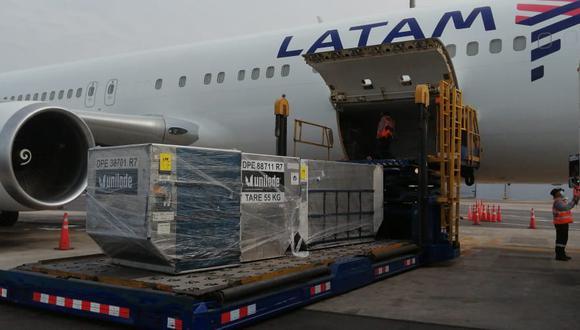 Respiradores mecánicos llegaron a Lima desde Miami. (Foto: Respira Perú)