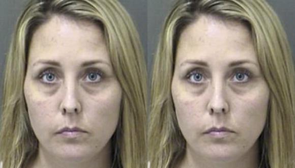Lynne Anne Burge, de 33 años de edad, logró llegar a un acuerdo de declaración de culpabilidad. (Cooke County Sheriff's Office)