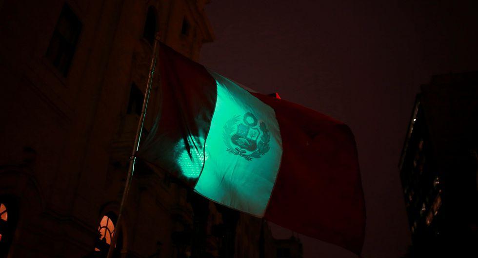 Algunas luces del Centro de Lima se apagaron. (Perú21)