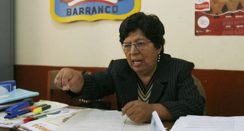 DESCARGO. Salsavilca negó la existencia de bullying en su plantel. (Rochi León)