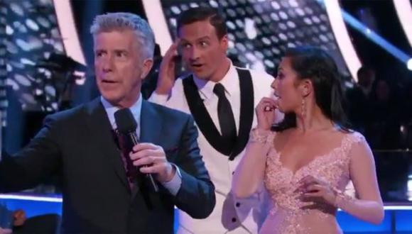 Protestan contra Ryan Lochte en el reality 'Dancing with the Stars'. (variety.com)