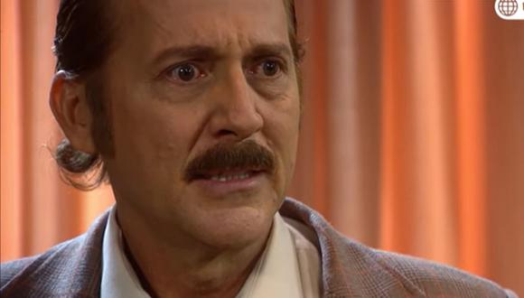 Paul Martin interpreta a al viudo Pedro Bravo o Pichón en la serie televisiva, de la que se alejó hace varias semanas. (Foto: América TV)