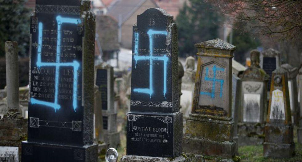 Francia: Profanan unas 80 tumbas en cementerio judío. (Foto: Reuters)