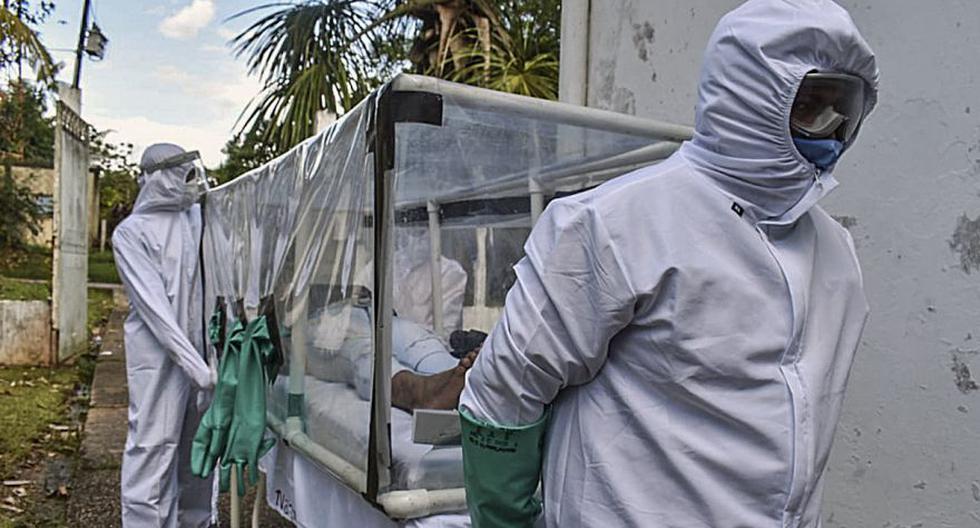 Colombia supera los 4.000 muertos por COVID-19. (AFP / Tatiana de NEVO).