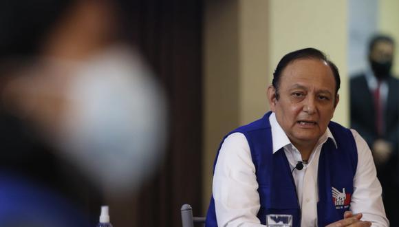 Walter Gutiérrez, fijó la postura de la Defensoría del Pueblo respecto del gobierno de Pedro Castillo. (Foto: Jorge Cerdan/@photo.gec)